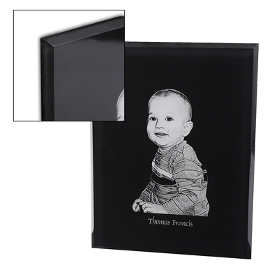 AME 148 - Photo Plaque - Beveled Edge - Black - 7x9 - Click Image to Close