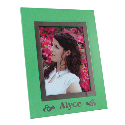 NTW 161 - ColorCoat Photo Frame - Green - 5x7 - Click Image to Close