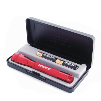 NUS 228 - Mini MAGLITE AA Gift Set - Red - Click Image to Close